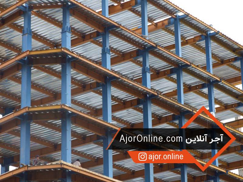 سقف ساختمانی جدید کامپوزیتی