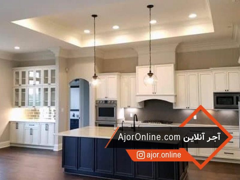 انواع سقف کاذب برای آشپزخانه