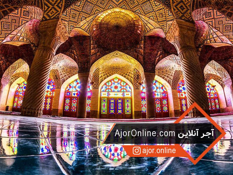 تحلیل معماری مسجد نصیرالملک